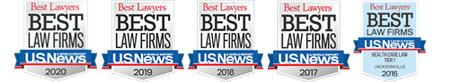 US News Best Law Firm in 2020 award