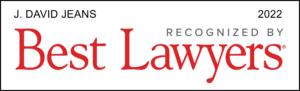 David Jeans Best Lawyer Award