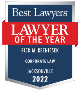 Rick Reznicsek Lawyer of the Year Award