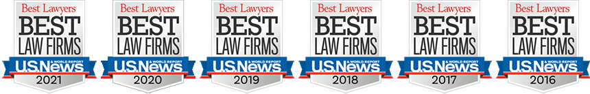 Best Lawyer - Law Firms 2016 - 2020